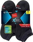 Hanes Men's FreshIQ X-Temp Active Cool No-Show Socks 12-Pack