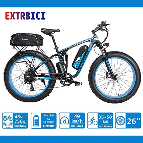 petit un compact Extrbici XF800 750W 48V13A Vélo électrique Vélo de montagne électrique Assistance commerciale mondiale limitée…