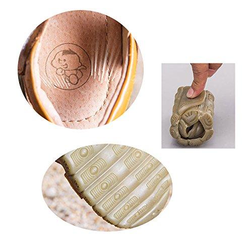 Eagsouni Unisex Kinder Sandalen aus weichem Leder - 7