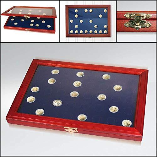 Münzen-Vitrinen für 2-Euro-Münzen: Vitrine für 40 St. 2-Euro-Münzen
