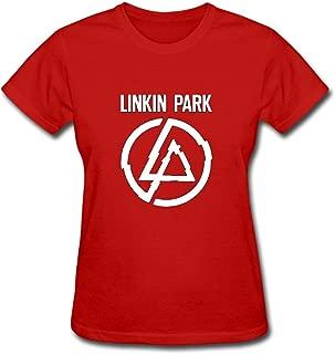 Duanfu Linkin Park Women's Cotton Short Sleeve T-Shirt
