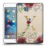 Head Case Designs Officiel Nature Magick Lettre X Monogramme Fleurs Or 2 Coque en Gel Doux...