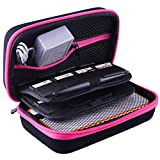 AUSTOR Carrying Case for New Nintendo 2DS XL, Rose