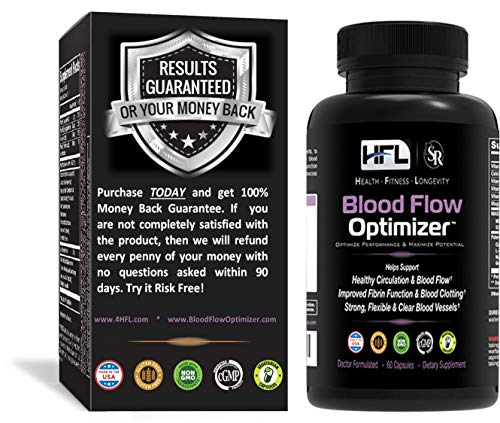 Blood Flow Optimizer™ by Dr Sam Robbins   Helps Improve Blood Flow, Circulation   Reduces Plaque, Calcium Build-Up   Contains Natural Ingredients, Organic Herbs, Extracts, Vitamins & Minerals
