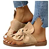 Sandals for Women Casual Summer, T-Strap Block Heel Sandals with Zipper Open Toe Ankle Dressy Wedge Sandals Womens Sandals Khaki