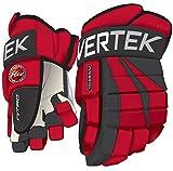 Best Hockey Gloves - PowerTek V5.0 Tek Ice Hockey Gloves Red (11) Review