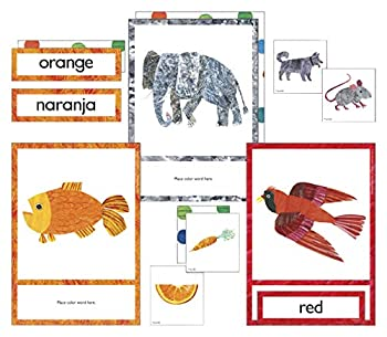 World of Eric Carle   Colors Flash Cards   Bilingual English and Spanish 79ct