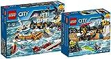 LEGO City 60167 Quartier Generale della Guardia Costiera + 60163 Starter Set Guardia Costiera