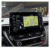 lifmagic Sticker de Protection de Protection à écran LCD en Verre trempé d'une Voiture d'autocontraitte Toyota Corolla/C-HR 2019 2020 Affichage de la Commande Centrale
