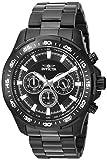 Invicta Men's Speedway Quartz Watch with Stainless-Steel Strap, Black, 24 (Model: 22785)