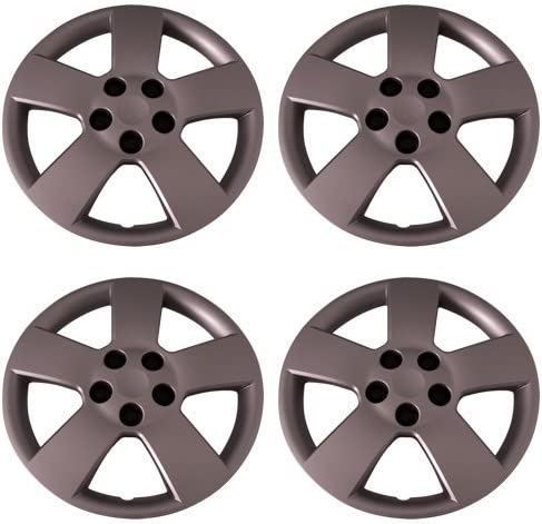 New popularity Set of 4 Silver 16 5 ☆ popular Inch Aftermarket with Bol Replacement Hubcaps