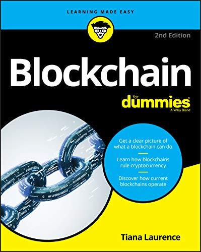 Blockchain For Dummies, 2nd Edition (For Dummies (Computer/Tech))