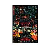Blade Runner Filmposter, dekoratives Gemälde, Leinwand,