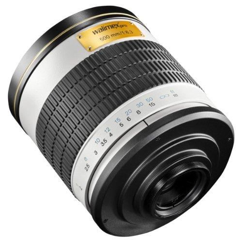 Walimex 16436 - Objetivo para Micro Cuatro tercios (Distancia Focal Fija 500 mm, Apertura f/6.3, diámetro: 100 mm)