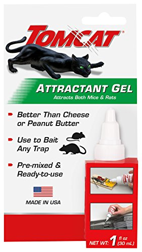 Tomcat Mouse Bait Attractant Gel Pre-Mixed Ready For Use with Mouse or Rat Traps 0362210