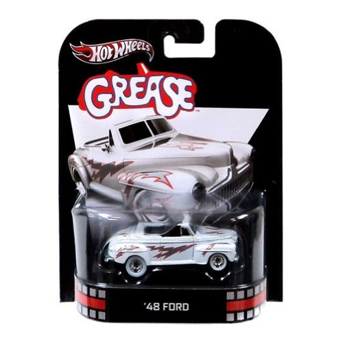 Hot Wheels Retro Grease 1:55 Die Cast Car \'48 Ford