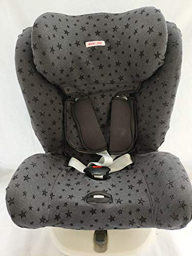 MOON-BEBE FUNDA PARA Star Ibaby - Silla de coche grupo 0+/1/2/3 Baby Auto Fix Noe (BLACK)