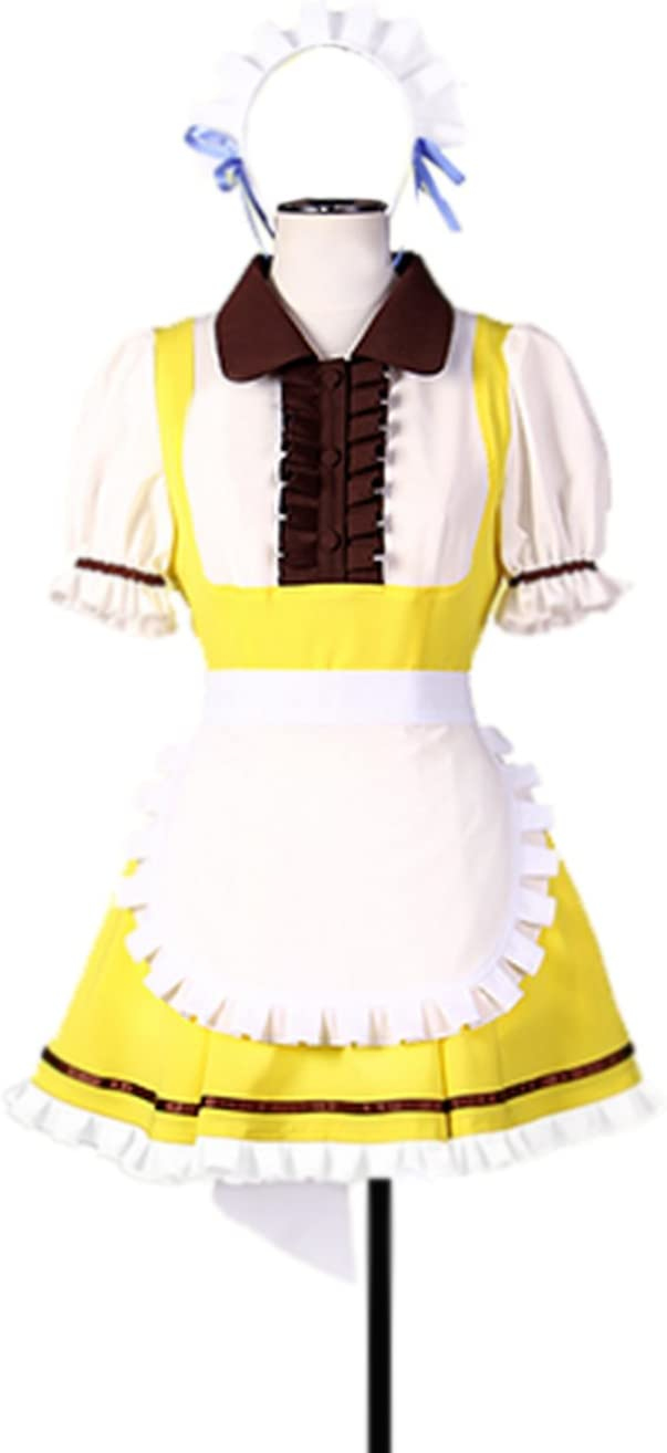 Dreamcosplay Animation Love famous live Sonoda Outfits Umi Quality inspection Co Cake Maid
