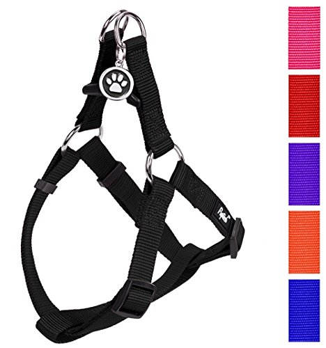 PUPTECK No Pull Dog Harness Adjustable Basic...