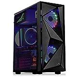 Memory PC Gaming PC completo PC AMD Ryzen 5 3500X 6x 3,6 GHz, NVIDIA RTX 2070 SUPER 8GB, 16 GB DDR4, 240GB SSD + 1000 GB HDD, Windows 10 Pro 64bit, monitor + mouse e tastiera.