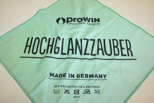 proWIN HOCHGLANZ Tuch - das perfekte Tuch für Hochglanzflächen aller Art