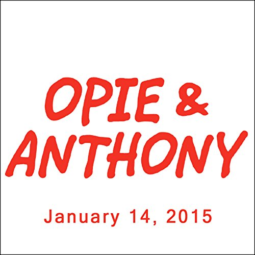 Opie & Anthony, Rich Vos, Tommy Chong, and Josh Gad, January 14, 2015 cover art