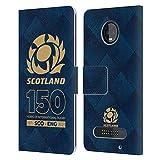 Head Case Designs Officiel Scotland Rugby Demi-Teinte 150isième Anniversaire Coque en Cuir à...
