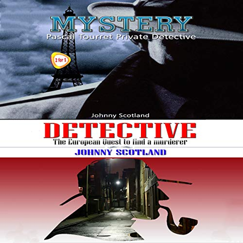 Mystery: Pascal Tourret - Private Detective audiobook cover art