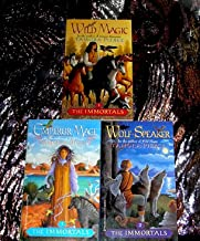The Immortals series - Book 1:Wild Magic, Book 2: Wolf-Speaker, Book 3:Emperor Mage
