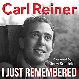 I Just Remembered audiobook cover art