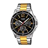Casio Enticer Men Analog Black Dial Men's Watch MTP-1374HSG-1AVIF(A1652)