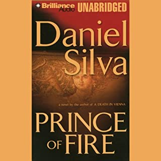 Prince of Fire audiobook cover art