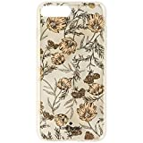 Kate Spade New York Phone Case | for Apple iPhone 8 Plus and 7 Plus | Protective Phone Cases with Slim Design, Drop Protection, and Floral Print - Blossom Pink/Gold with Gems (iPhone 8/7 Plus)