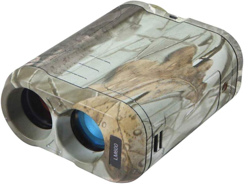 CARACHOME Telémetro de Caza, telémetro de Golf 600M para Caza con escaneo de Velocidad y mediciones Normales para Caza con Arco, Golf, Camping con Pendiente