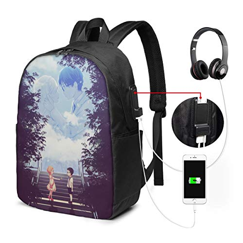 Your Lie in April Miyazono Cool USB Backpack 17 in Laptop Backpack
