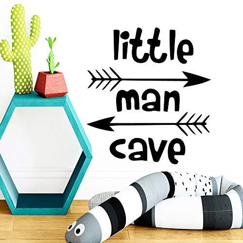 yaonuli Art Dwarf Cave Wandaufkleber Vinyl Dekoration Kinderzimmer Schlafzimmer Dekor Aufkleber Aufkleber Mural54x57cm