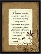 Dexsa So Many People Wood Frame Plaque with Easel