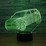 MPV SUV Car Toys Party USB s Junto a 3D LED Night Light...