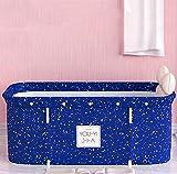 LQ-MAOZI Bañera Plegable para Adultos, Sauna, bañera de Vapor, bañera de pie, baño Familiar Separado, bañera de hidromasaje, Ideal para baño Caliente, baño de Hielo,G