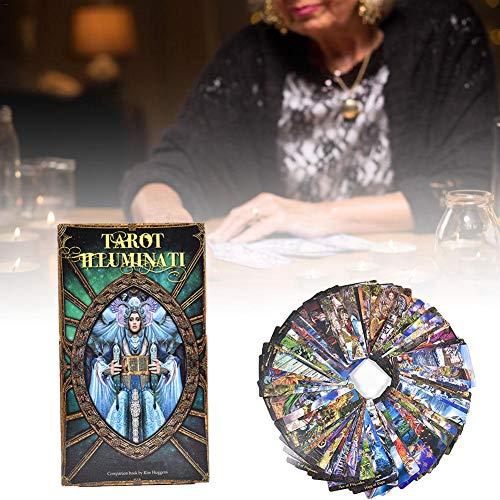 Letway 78 Tarot Illuminati Kit Tarot Kartenspiele Brettspiel Partyspiel für Erwachsene, Jugendliche und Kinder excellently