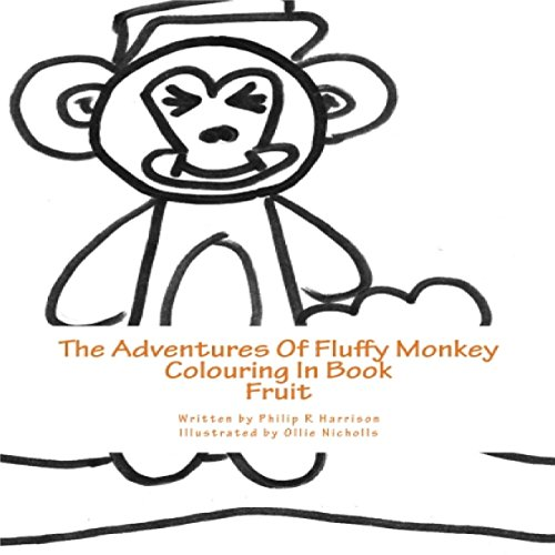 The Adventures of Fluffy Monkey: Fruit audiobook cover art