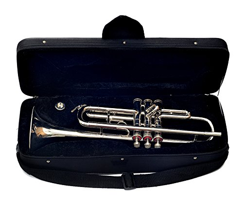 Trompeta para venta nuevo bañado en níquel BB Trompeta con carcasa rígida + 2MP + Suspensión para