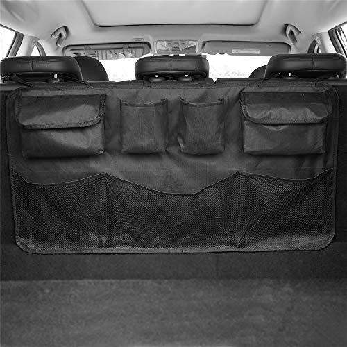 Equipaje del bolso del organizador Bolsa de almacenamiento para el maletero del coche de la utilidad del asiento del respaldo del asiento de almacenamiento del automóvil Ropa Calzado Bolsas de almacen