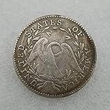 MOMOKY Copy 1795 US Commemorative Half Dollar Antique Coin-Collection America Liberty&Eagle 50 Cents Coin Morgan Silver Dollar Replica Discovery Collection