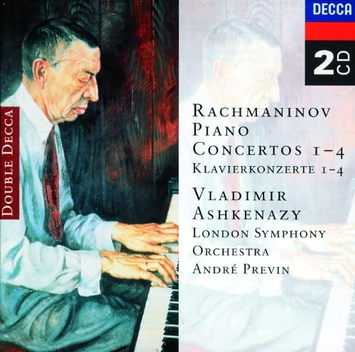 Vladimir Ashkenazy, London Symphony Orchestra, André Previn & Sergei Rachmaninoff