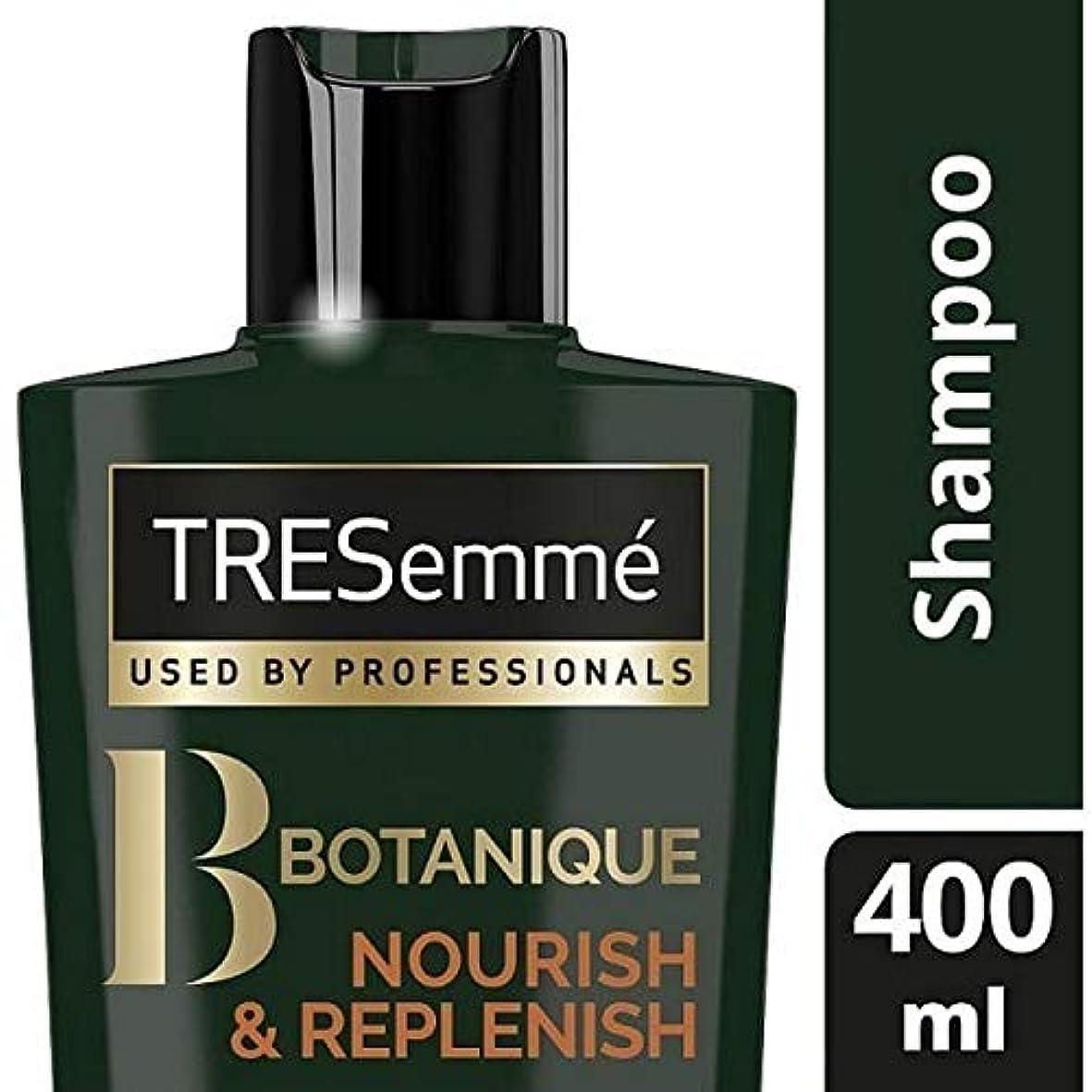 忠実ソーシャル城[Tresemme] Tresemmeのボタニックはシャンプー400ミリリットルを養う&補充します - TRESemme Botanique Nourish & Replenish Shampoo 400ml [並行輸入品]