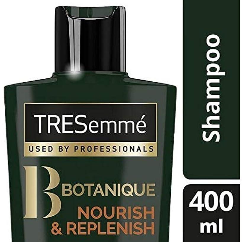 [Tresemme] Tresemmeのボタニックはシャンプー400ミリリットルを養う&補充します - TRESemme Botanique Nourish & Replenish Shampoo 400ml [並行輸入品]