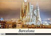 Barcelona - Ueber den Daechern Kataloniens (Wandkalender 2022 DIN A4 quer): Die schoensten Aussichtspunkte ueber Barcelona (Monatskalender, 14 Seiten )