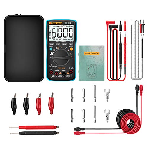 AN9002 Digital True RMS 6000 Counts Bluetooth Multimeter AC/DC Strom Spannung Tester Professioneller Auto-Range Multimeter Utility To Use