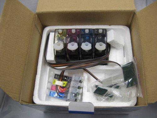 Gigablock CIS CISS Continuous Ink Supply System For Epson Expression XP 410 XP 400 XP 200 XP 300 WF-2520 WF-2530 WF-2540